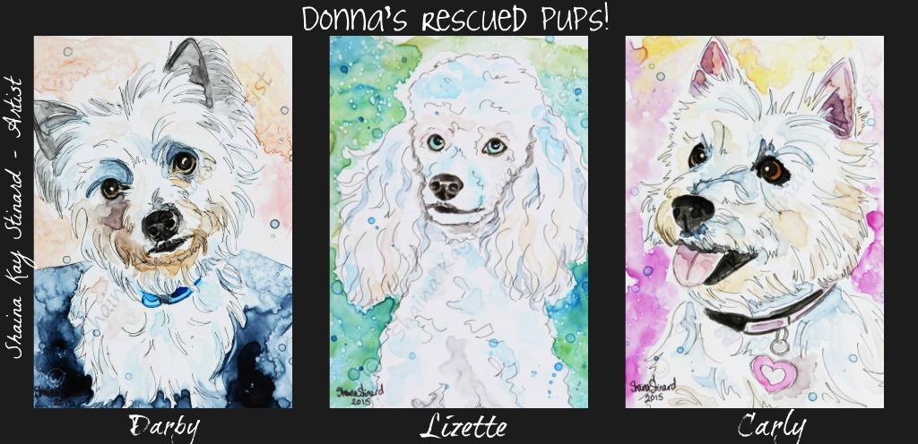 Donna Francis pups